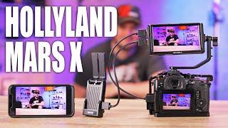 Трансляция видео с камеры на смартфон. Обзор Hollyland MarsX.