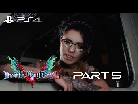 Devil May Cry 5 #5. Steel Impact [Japanese Dub]