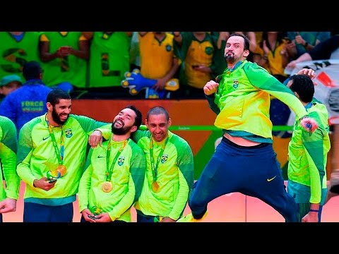 TOP 30 Powerful Volleyball Spikes | Brazil Volleyball Players