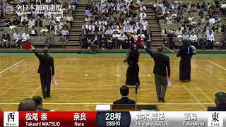 Ippons Men's Match SENPO~18SHO - 64th All Japan TOZAI-TAIKO KENDO TAIKAI