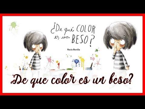 ¿de-que-color-es-un-beso?-·-rocío-bonilla-·-editorial-algar-·-libro-infantil-·-cuento-infantil