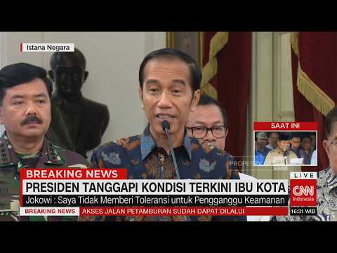 Image of Presiden Jokowi Tanggapi Kondisi Terkini Ibu Kota