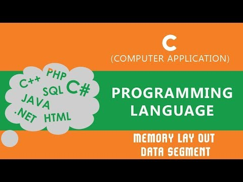 8. | Memory Lay Out  | Data Segment | - C Language