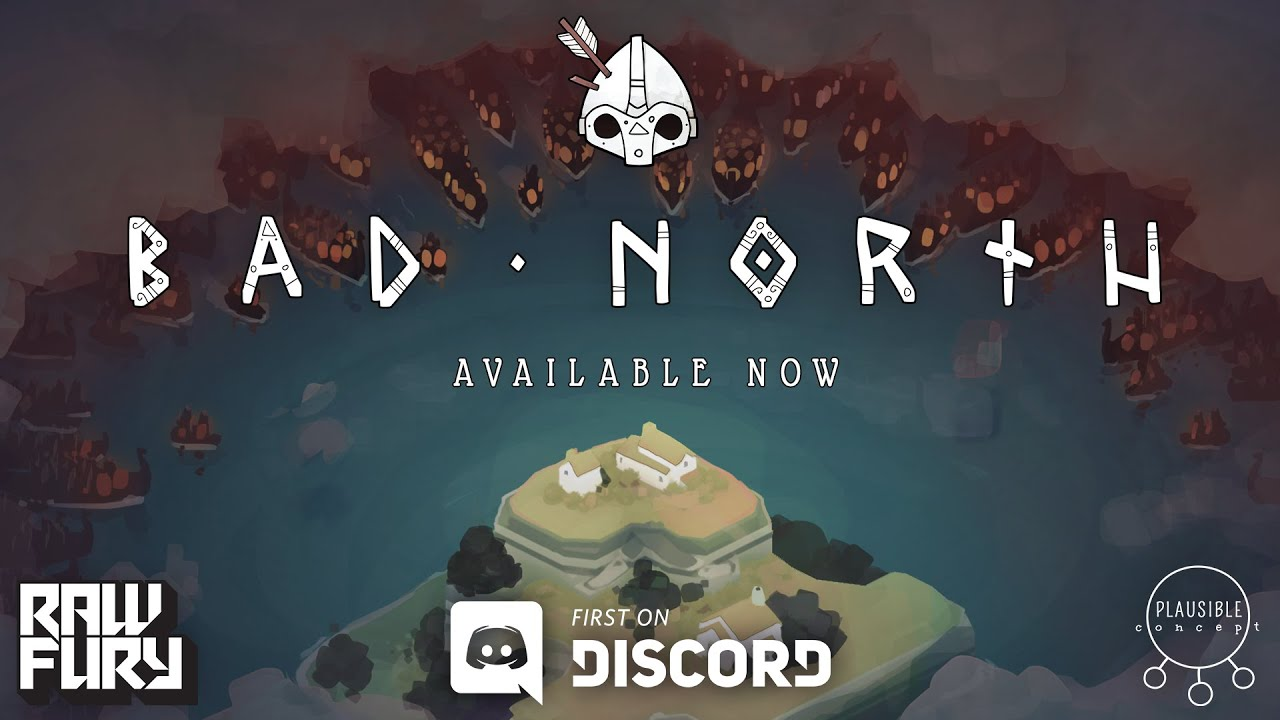 Bad North - A Minimalistic, Real-Time Tactics Roguelite with Vikings