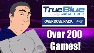 I Bought the True Blue Mini Overdose Hack Stick for the Playstation Classic! Over 200 Extra Games!