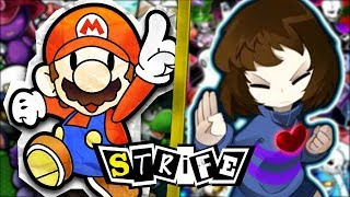 Paper Mario VS Undertale | STRIFE!!