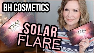 BH Cosmetics Solar Flare Palette! Swatches & Review! | LipglossLeslie