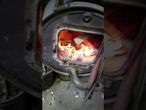 Free heat. Garage heater