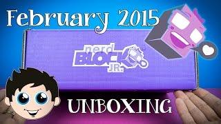 Nerd Block Jr Girls Edition February 2015 Mystery Box Unboxing!