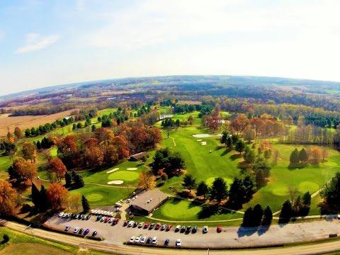 Mohican Hills Golf Club Course Jeromesville Ohio Fall 2014