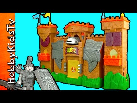 Imaginext Eagle Talon Castle Toy Review With HobbyDad