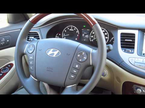 New Hyundai Genesis 5.0 V8 Interior Tour Nav and Tech Pack