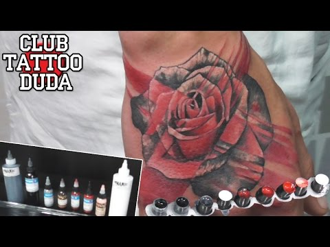 Tattoo Trash Polka. Rose Realistic \ Трэш роза. Начало рукава