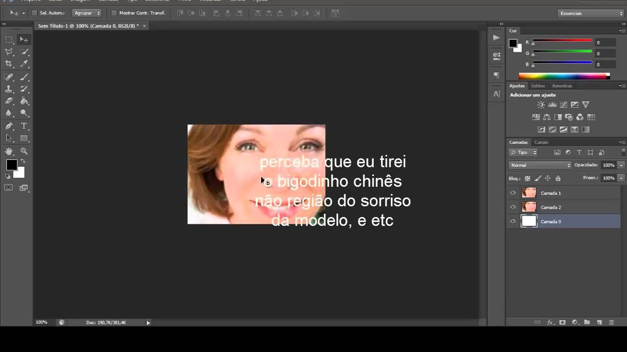 Limpeza De Pele Photoshop Cs6 Youtube