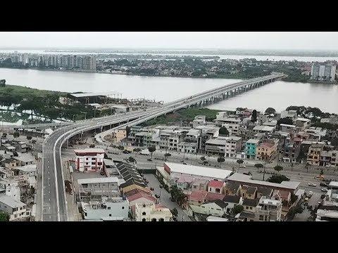 Nuevo puente Guayaquil-Samborondón desde el 3 de mayo