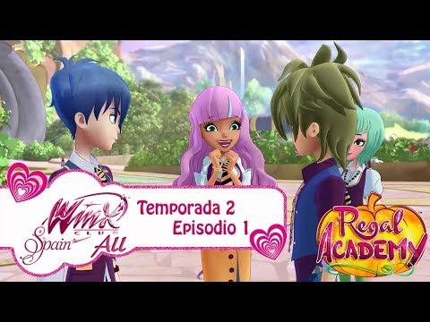 Regal Academy - Temporada 2 Episodio 1 - Pompones - COMPLETO