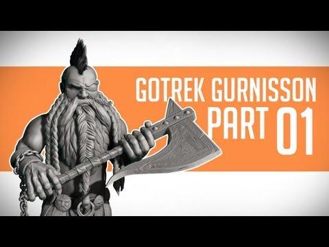 Gotrek Gurnisson: Sculpting [Part 1] - Basemesh