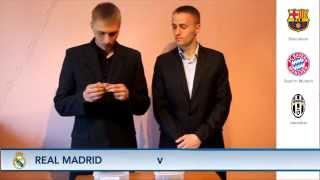 Oczami kibica FC Barcelony: LOSOWANIE LIGI MISTRZÓW