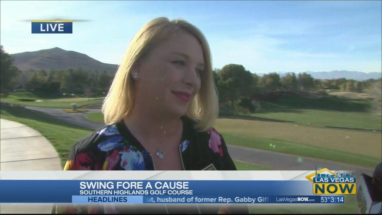 Take a swing to help St. Jude's Ranch. 8 News NOW Las Vegas
