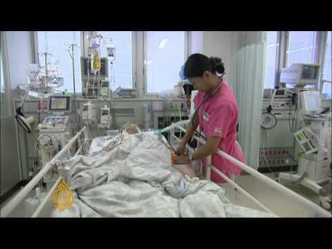Japan suffers nurse shortage