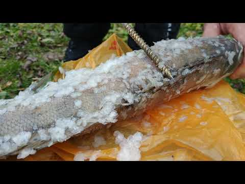Чистка рыбы шуруповертом