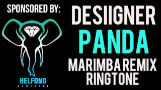 Desiigner Panda Marimba Ringtone and Alert
