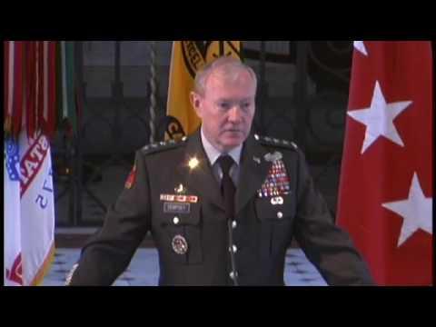 Army ROTC Awards 2009 - Martin E. Dempsey Part 1 of 3