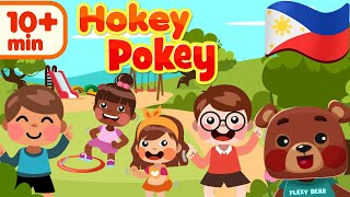 Hokey Pokey in Filipino | Nursery Rhymes & Awiting Pambata Compilation