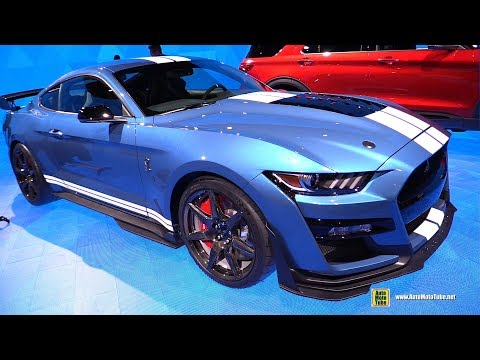 Ford Mustang Shelby GT - Exterior and Interior Walkaround - Detroit Auto Show