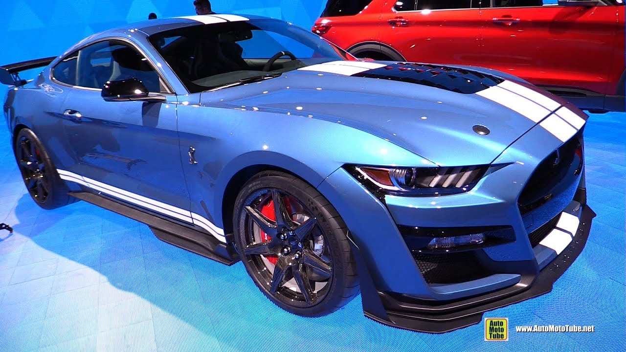 2020 ford mustang shelby gt500 exterior and interior walkaround detroit auto show 2019