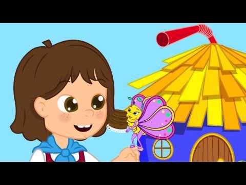 Borboletinha com Heidi - Musica infantil com Os Amiguinhos