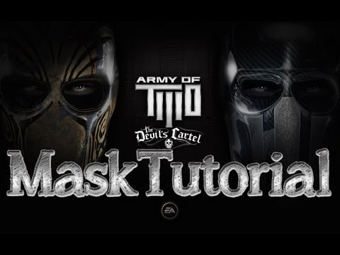 Army of Two The Devils Cartel - Marvel Mask Creation Tutorial