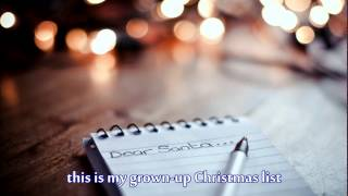Grown-up Christmas List by Lea Salonga with lyrics