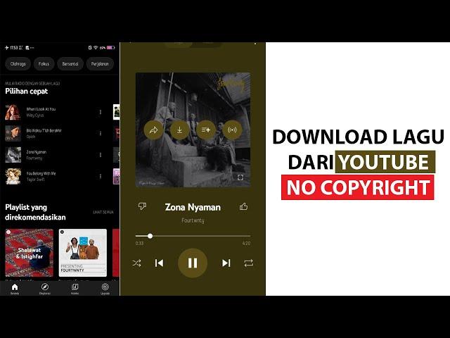 Cara Download Lagu dari YouTube No Copyright
