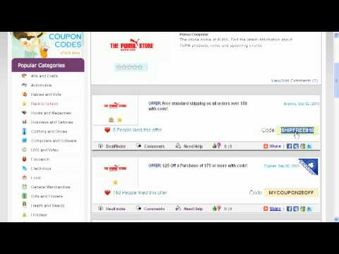 03453c3397 How To Use Puma Coupon Codes - YouTube