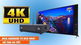 Nên mua Android TV BOX nào hỗ trợ 4K?