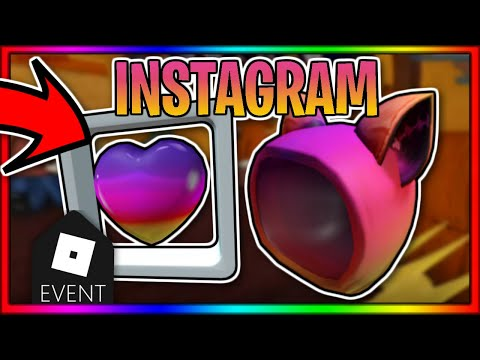 🌟ROBLOX INSTAGRAM EVENT ITEMS LEAKED! (ROBLOX 2020)