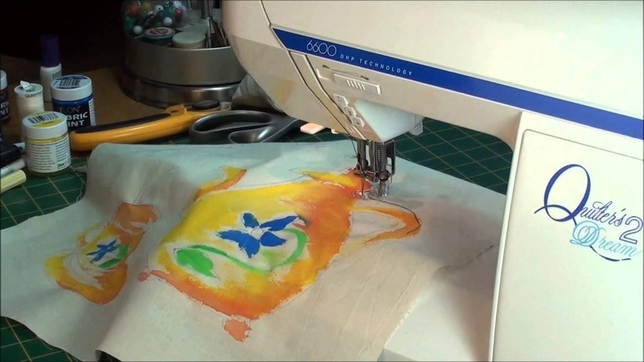 how to start embroidery project