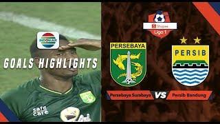 Persebaya Surabaya (4) vs Persib Bandung (0) - Goal Highlights | Shopee Liga 1