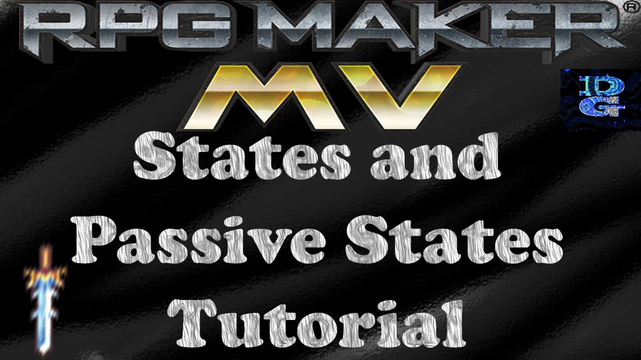 RPG Maker MV States and Passive States Tutorial