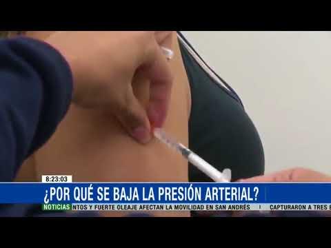 ¿Cuál es la causa de la presión arterial baja?