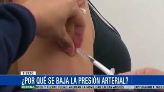 Baja en adultos presion arterial sintomas de