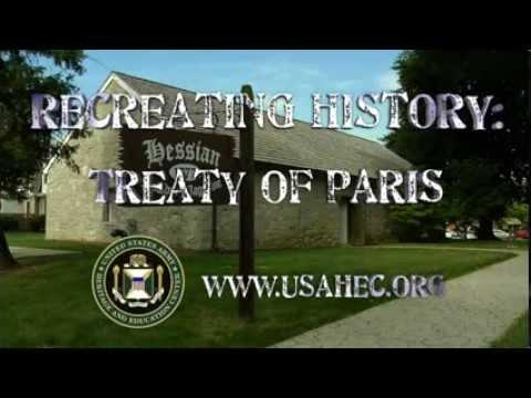 Recreating History: The Treaty of Paris