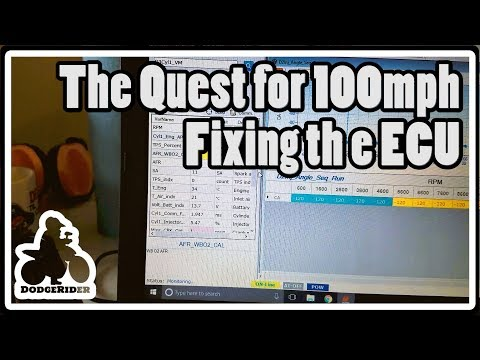 Fixing the ECU - The Quest for 100mph