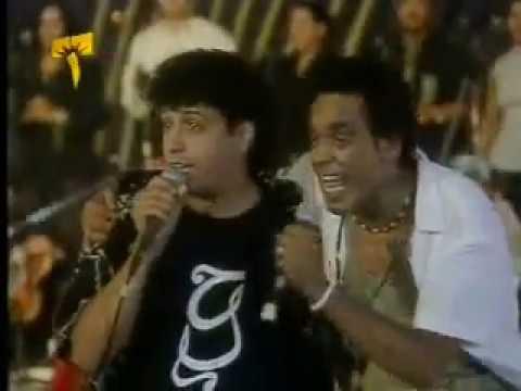 محمد منير وحميد بارودي - حكمت الاقدار - حفل ليالي التليفزيون مارينا 2000