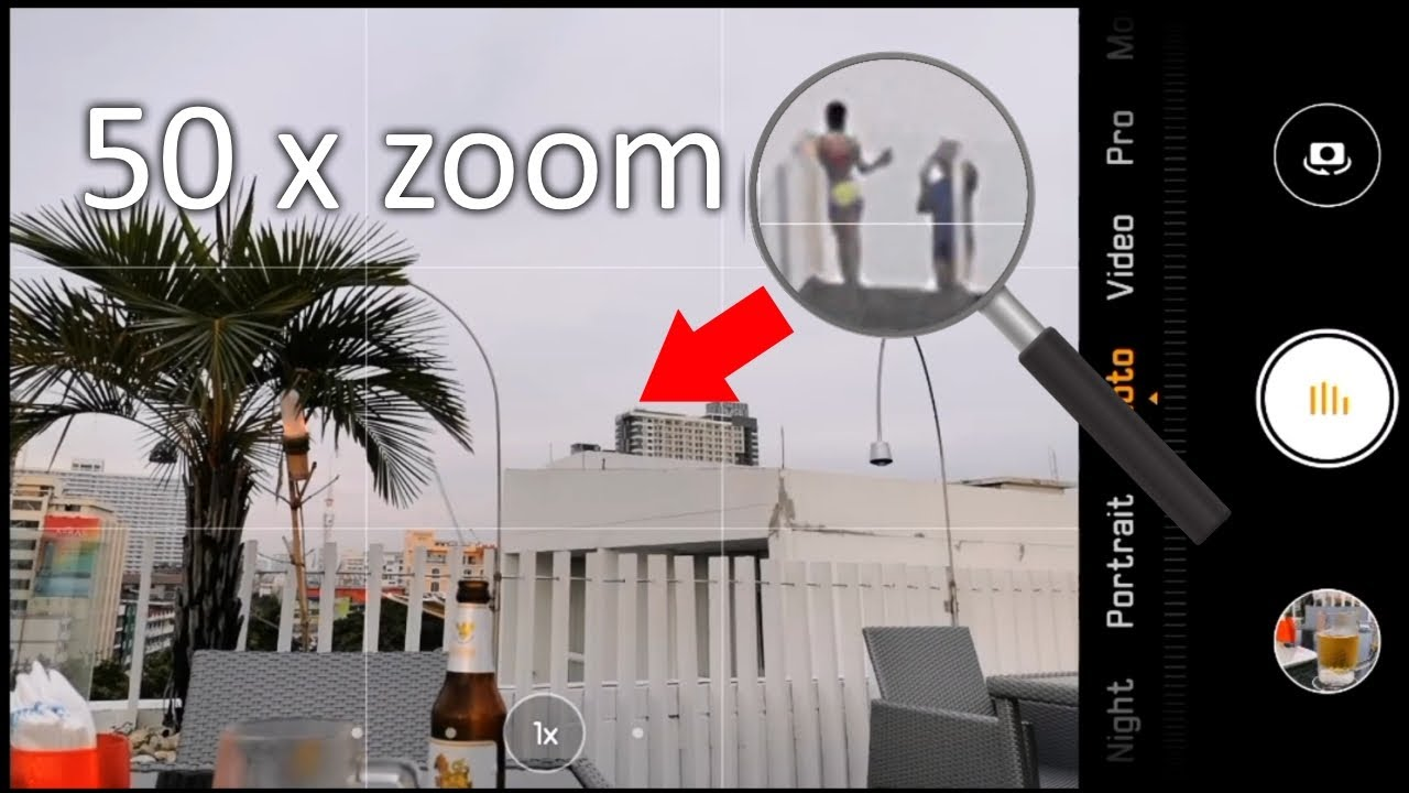Huawei P30 Pro Zoom - Rooftop Discoveries