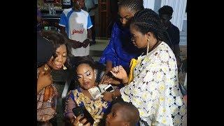 Esther Kalejaiye Bidemi Kosoko And Others Spray Money On Sola Kosoko And Her Daughter
