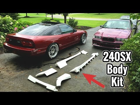Body Kit For My 240sx Youtube