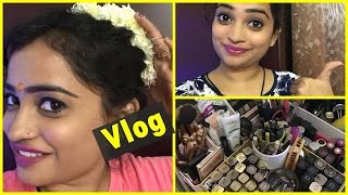 vlog hubby does shopping for me quick makeup collection tour random thursday in my life