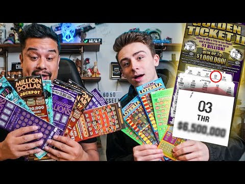 I Spent $1,500 On Lottery Tickets And Won! | HECZ And Envoy Huntsmen